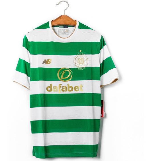 Camisa De Futebol Masculino Celtic 2017/18 New Balance