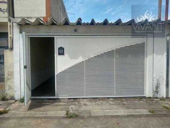 Casa Com 3 Dormitórios Para Alugar, 100 M² Por R$ 1.300/mês - Parque Suzano - Suzano/sp - Ca0210