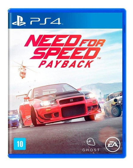 Need For Speed Payback Ps4 Mídia Física Novo Lacrado