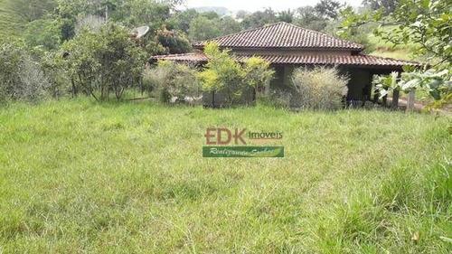 Imagem 1 de 11 de Chácara Com 3 Dormitórios À Venda, 5000 M² Por R$ 275.000,00 - Zona Rural - Paraisópolis/mg - Ch0663