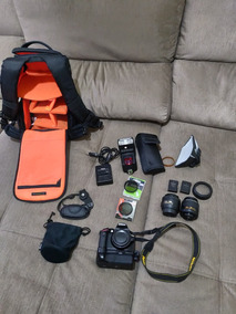 Kit Completo Nikon D3200 12 Peças