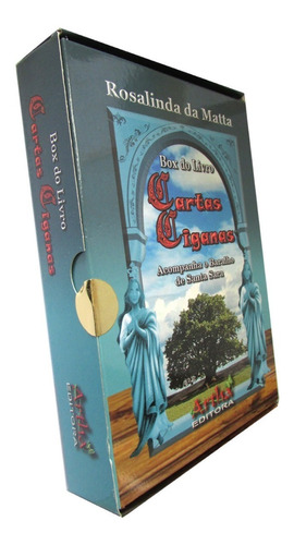Box Cartas Ciganas + Baralho De Santa Sara Taro Artha