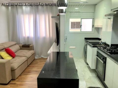Imagem 1 de 14 de Apartamento Residencial Em Barueri - Sp, Centro - Apv2555