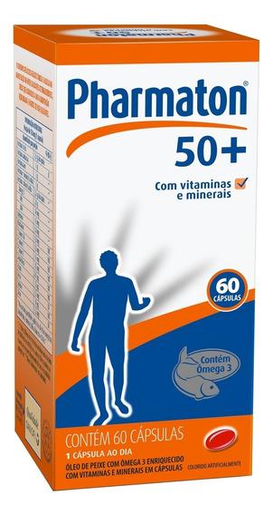 Pharmaton 50+ 60 Capsulas Sanofi