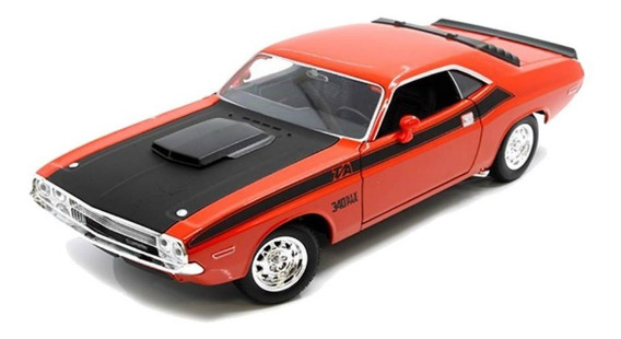 Dodge Challenger T/a 1970 1/24 Welly