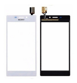 Tela Touch Xperia M2 Aqua D2403 Branco