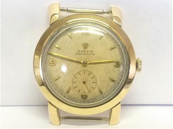 Relógio Ouro 14 K 585 Rolex Precision Anos 40 Raro
