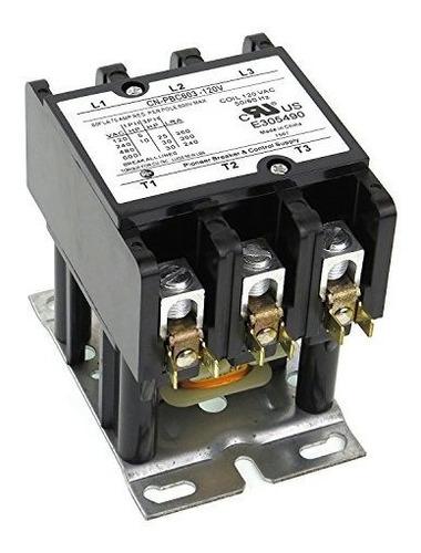 Imagen 1 de 4 de Yc-cn-603-2 Yuco Cn-pbc603-120v Definido Propósito Contactor