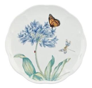 Lenox Butterfly Meadow - Placa Decorativa, Diseño De Flores,