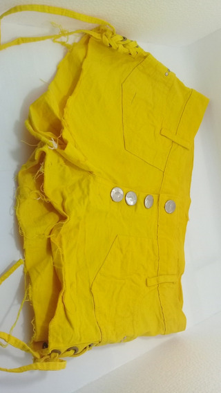 Kit 2 Shorts Feminino Lindo Modelos Com Detalhes Na Latera