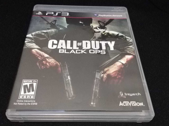 Call Of Duty Black Ops Playstation 3 Original Completo