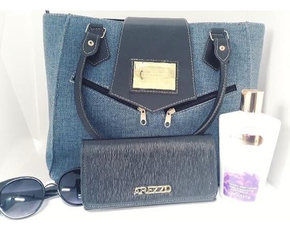 Bolsa + Carteira + Creme Victoria Secret + Oculos Kit