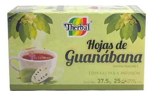 Imagen 1 de 2 de Hojas De Guanabana Té 25 Sobres Therbal