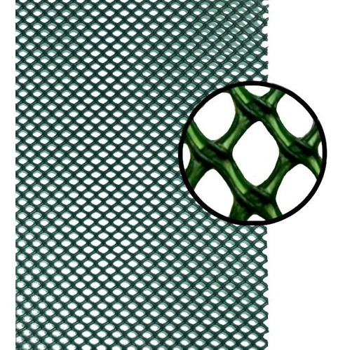 Imagen 1 de 5 de Polyhardware- A Malla Multiuso Rollo De 1x30m Color Verde