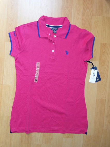 Playera Us Polo Assn Rosa Fucsia