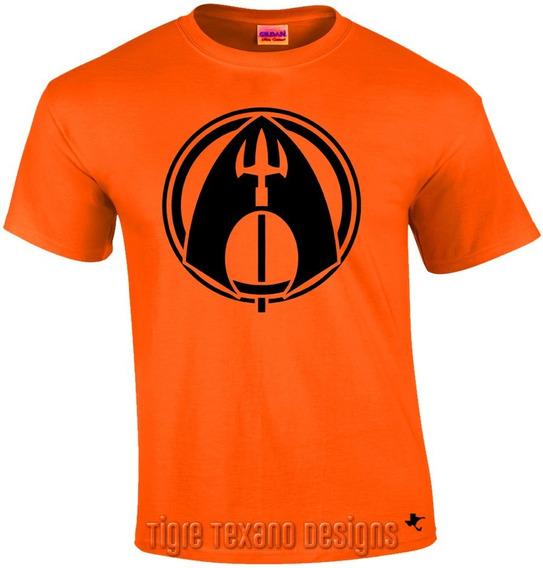 Playera Super Héroes Aquaman By Tigre Texano Designs