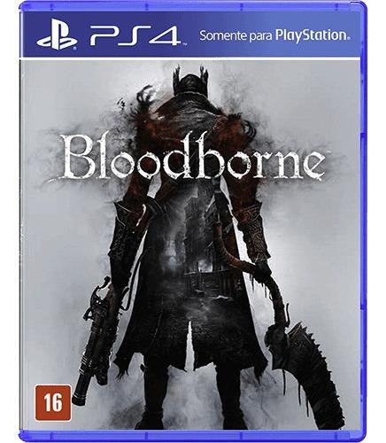 Jogo Bloodborne - Ps4 Mídia Física Usado
