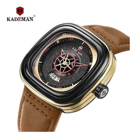 Reloj Barato De Lujo Diseño Cuadrado Exclusivo