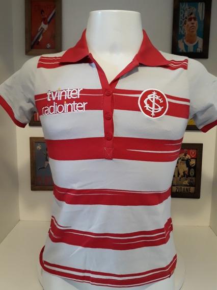 Camisa Polo Feminina Internacional Reebok