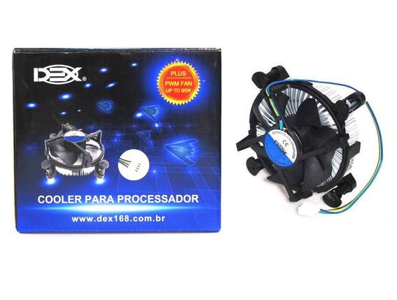 Cooler Box Intel Lga1150/1155/1156, I3/i5/i7 Tdp 95w 4 Pinos
