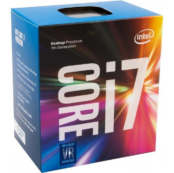 Processador Intel Core I7 Kaby Lake 4.2g 8mb Bx80677i77700k
