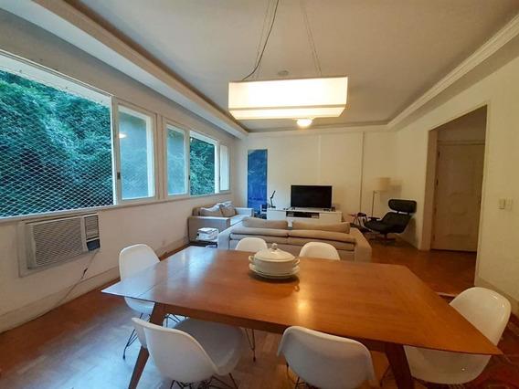Apartamento Com 3 Dormitórios Para Alugar, 135 M² Por R$ 3.800,00/mês - Botafogo - Rio De Janeiro/rj - Ap4446