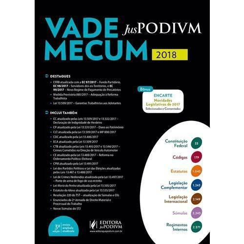Vade Mecum - Juspodivm 2018