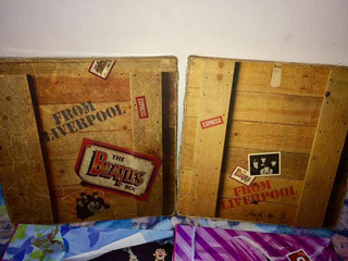 The Beatles Box From Liverpool 8 Lps Importados