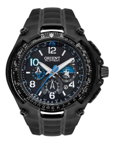 Relógio Orient Masculino Flytech Mpttc001 Preto Limitada