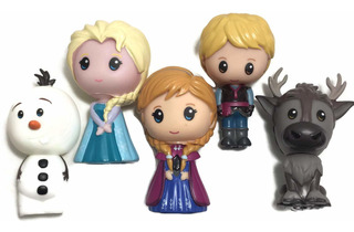 Set De Muñecos De Juguete Disney Frozen 2 Elsa Anna