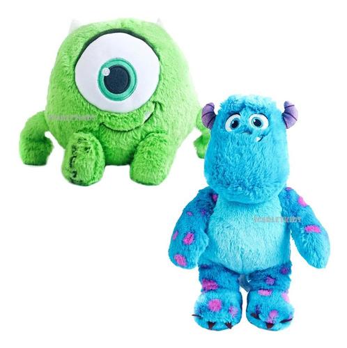 Sulley + Mike Monster Inc Peluche 28cm Combo Orig Disney