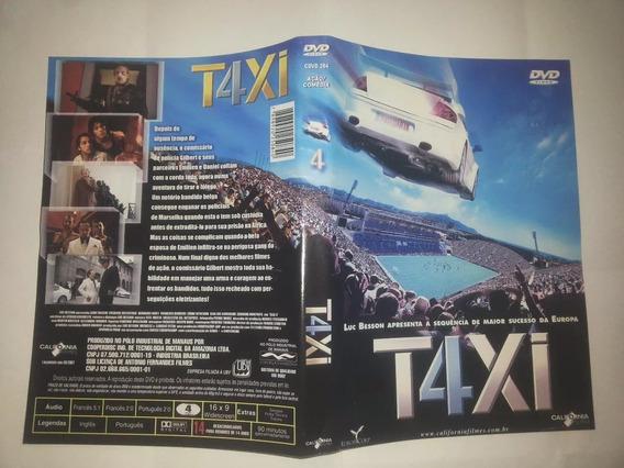 Dvd Táxi 2,3 E 4 Pack 3 Filmes D Ação Luc Besson Fret Gratis