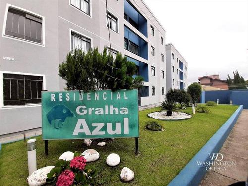 Apartamento À Venda, 54 M² Por R$ 185.000,00 - Bom Jesus - São José Dos Pinhais/pr - Ap0734