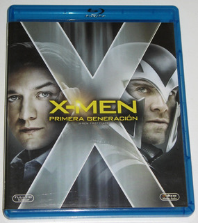 X-men Primera Generación First Class Blu-ray Original
