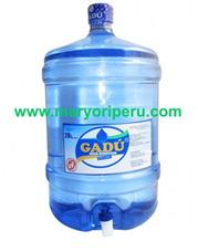 Bidon De Agua Gadu De 20 Lts, Dispensador, Cajas Descartable