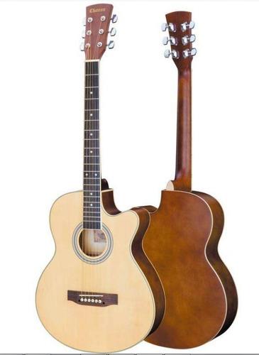 Imagen 1 de 7 de Guitarra Electroacustica Folk Auditorium Chateau 120 Estuche