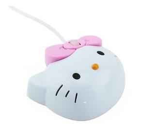 Mini Mouse Hello Kitty Alambrico Usb Con Luz