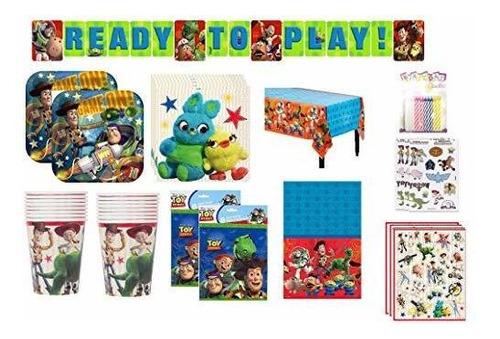 Toy Story Suministros De Fiesta De Cumpleaños Decoración Paq