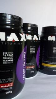 Whey Protein Blend Max Titanium (nordeste - Frete Em Conta)
