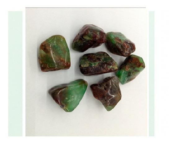Crisoprasio Rolada Natural 250g Pedra Cura Cristais