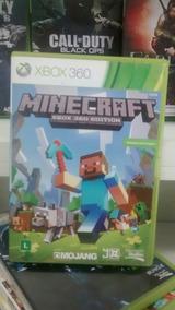 Jogo Do Xbox 360: Minecraft . Frete Grátis