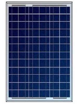 Painel Placa Célula Energia Solar 50 Watts + Controlador 10a