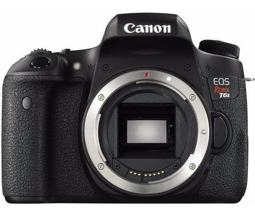 Câmera Canon Eos Rebel T6s Dslr So Corpo Com Nf-e
