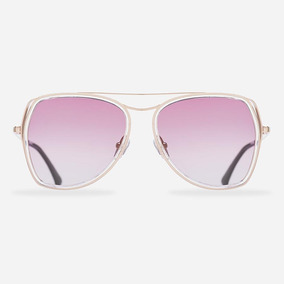 c0d499a4b Oculos Aviador Lente Transparente Rosa - Óculos no Mercado Livre Brasil