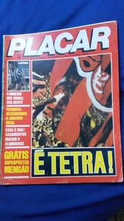Revista Placar 1981 Flamengo Campeão