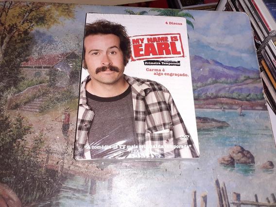 Box Dvd My Mame Is Earl 1ª TemporadaOriginal Lacrado