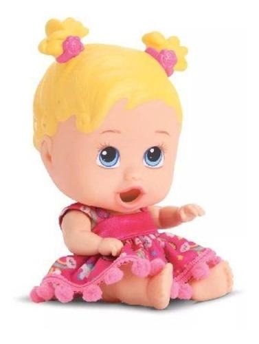 Boneca Little Dolls Come Come Com Acessórios- Divertoys