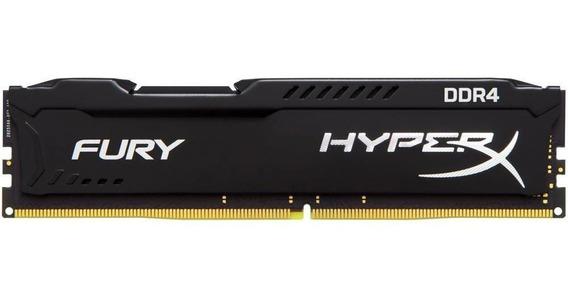 Memória Hyperx Fury, 8gb, 2400mhz, Ddr4, Cl15, Preto - Hx424