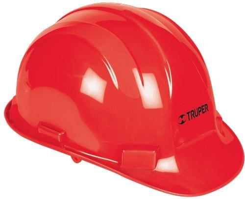 Imagen 1 de 4 de Casco Seguridad Rojo Truper 10373