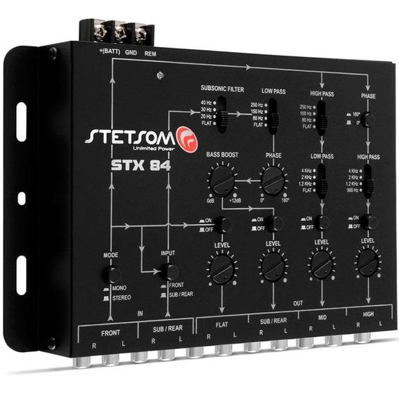 Crossover Stetsom Stx84 4 Vias Som Automotivo Mono Stereo